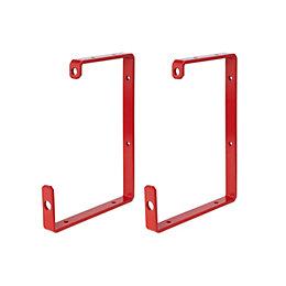 Mac Allister Ladder storage hooks, (H)40mm of 1