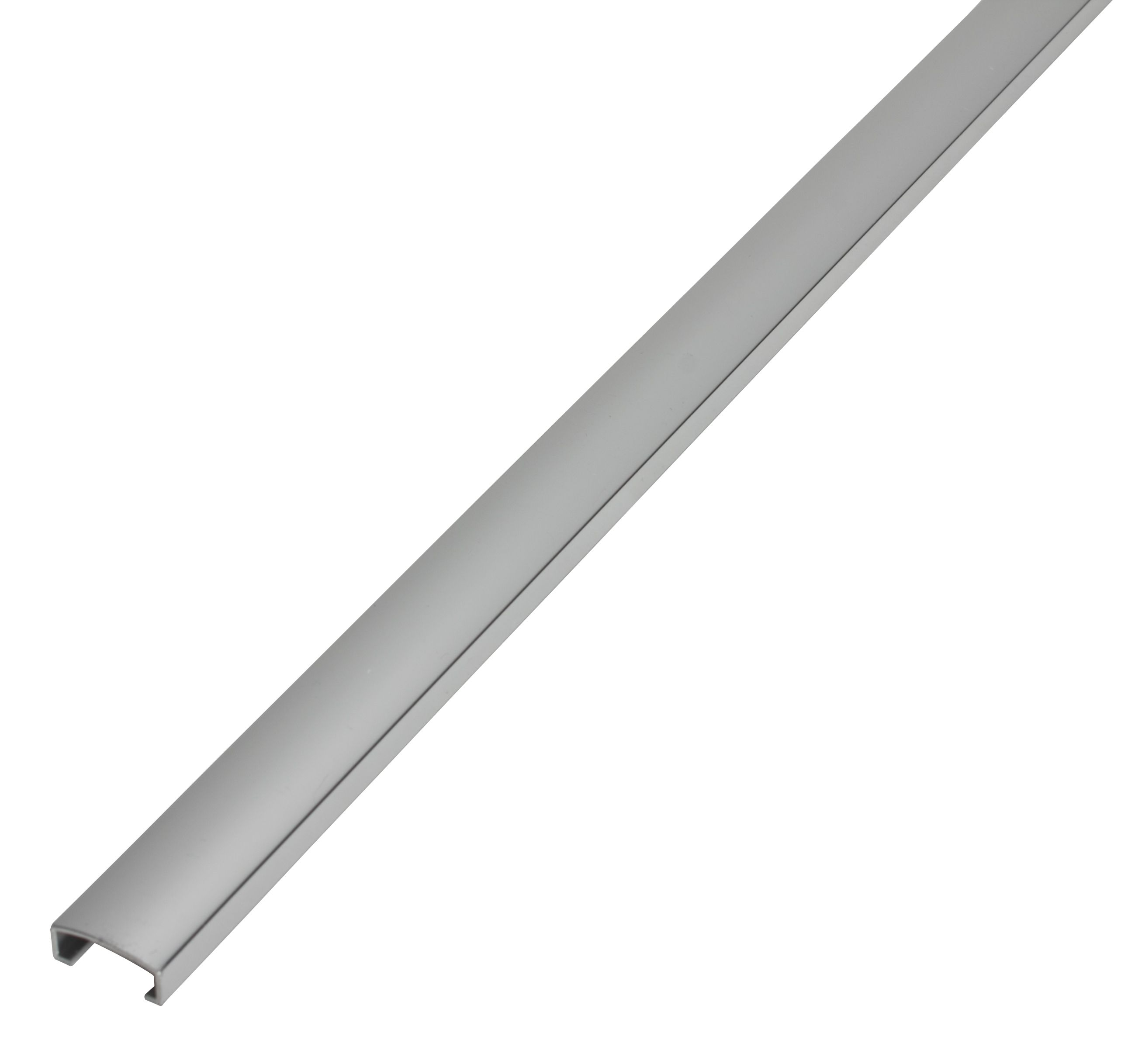 diall chrome aluminium listello tile trim departments. Black Bedroom Furniture Sets. Home Design Ideas