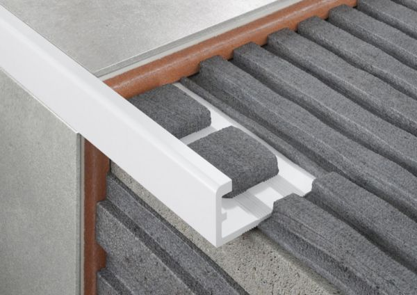 Straight Edge PVC Tile Trims