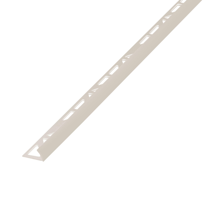 Diall Cream PVC External Edge Tile Trim   Departments ...