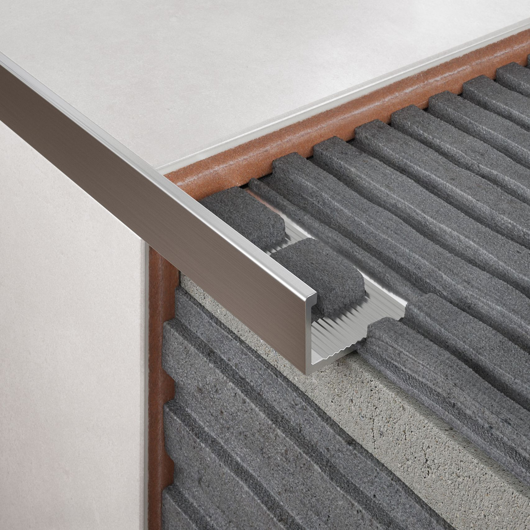 Aluminium & Plastic Tile Trims