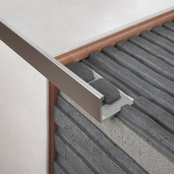 Tile Trims | Aluminium & Plastic Tile Trims | DIY at B&Q