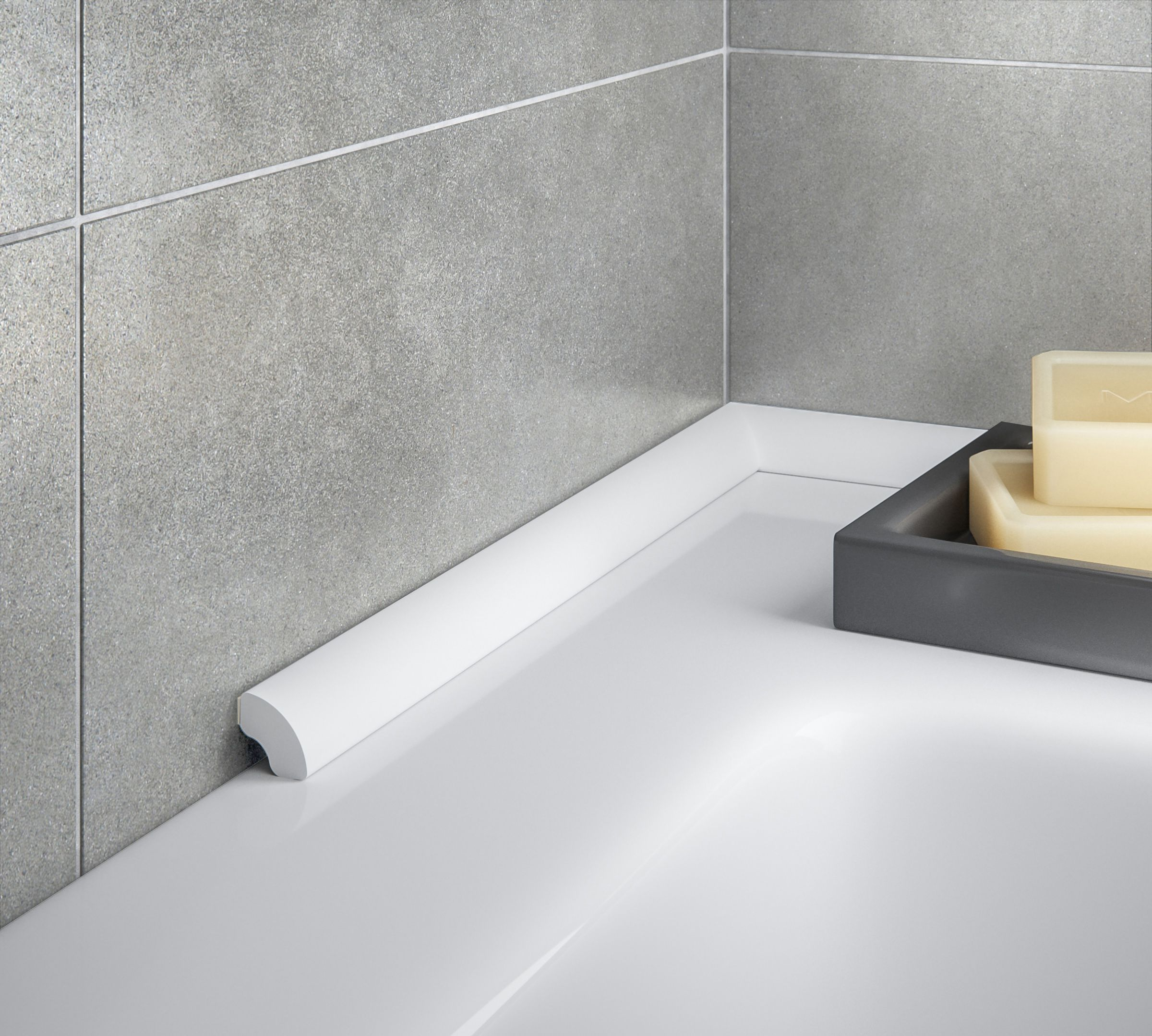 Charmant Self Adhesive Bath Seal Trim
