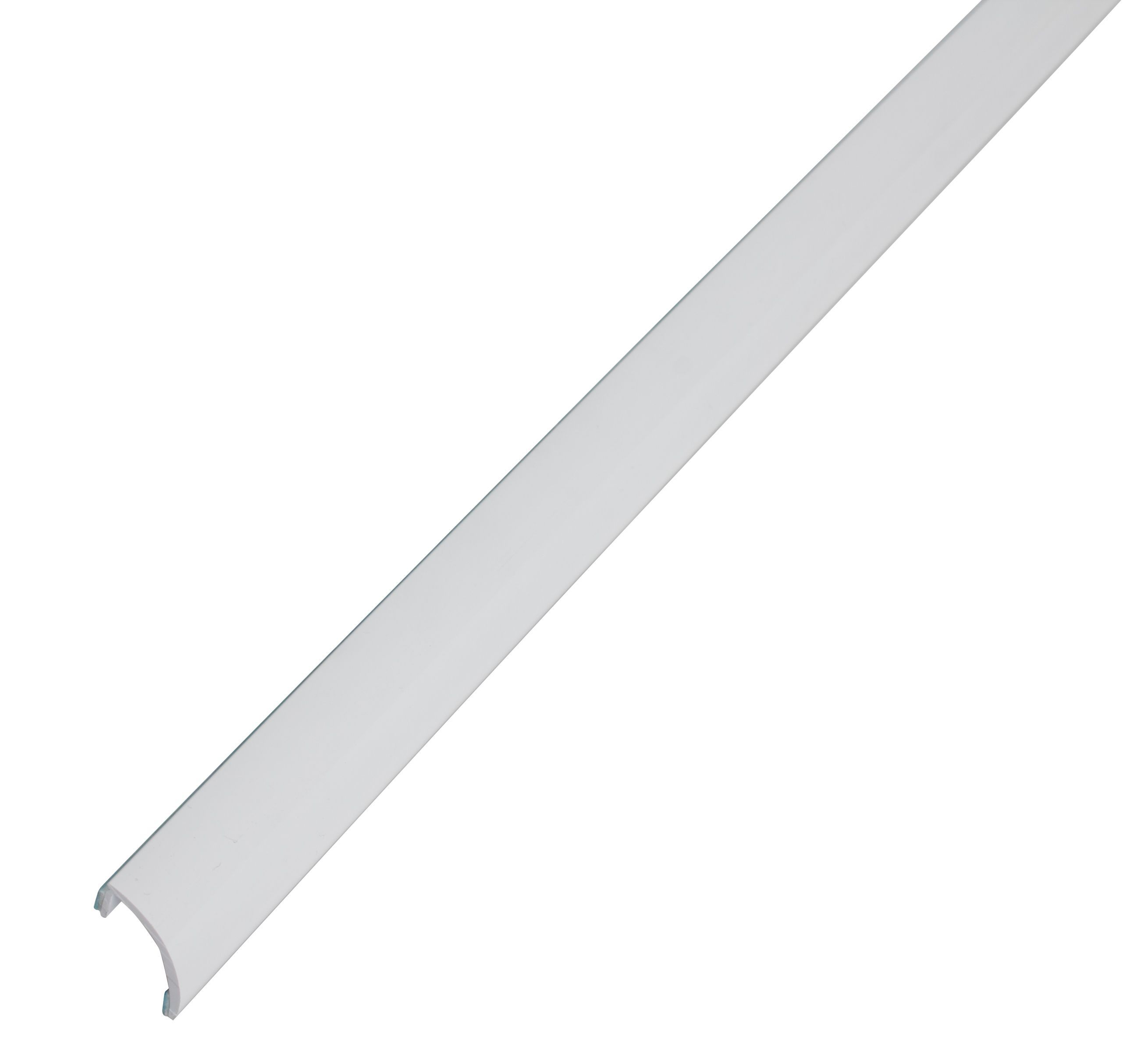 Diall white pvc self adhesive curved bath seal trim B q bathroom design service