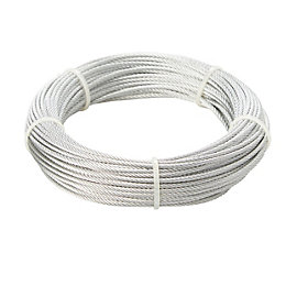 Diall Steel Cable 2mm x 20M