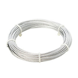 Diall Steel Cable 4mm x 10m
