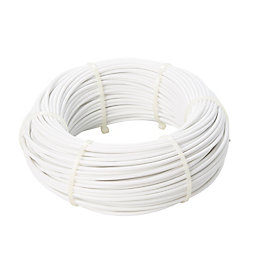 Diall Steel & PVC Cable 60mm x 60M