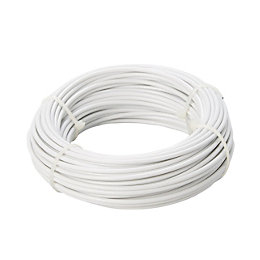 Diall Steel & PVC Cable 1.7mm x 15M