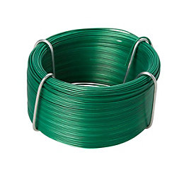 Diall Steel & PVC Steel Wire 0.8mm x