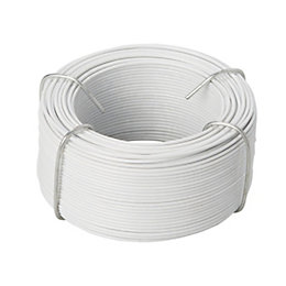 Diall Steel & PVC Steel Wire 1.4mm x