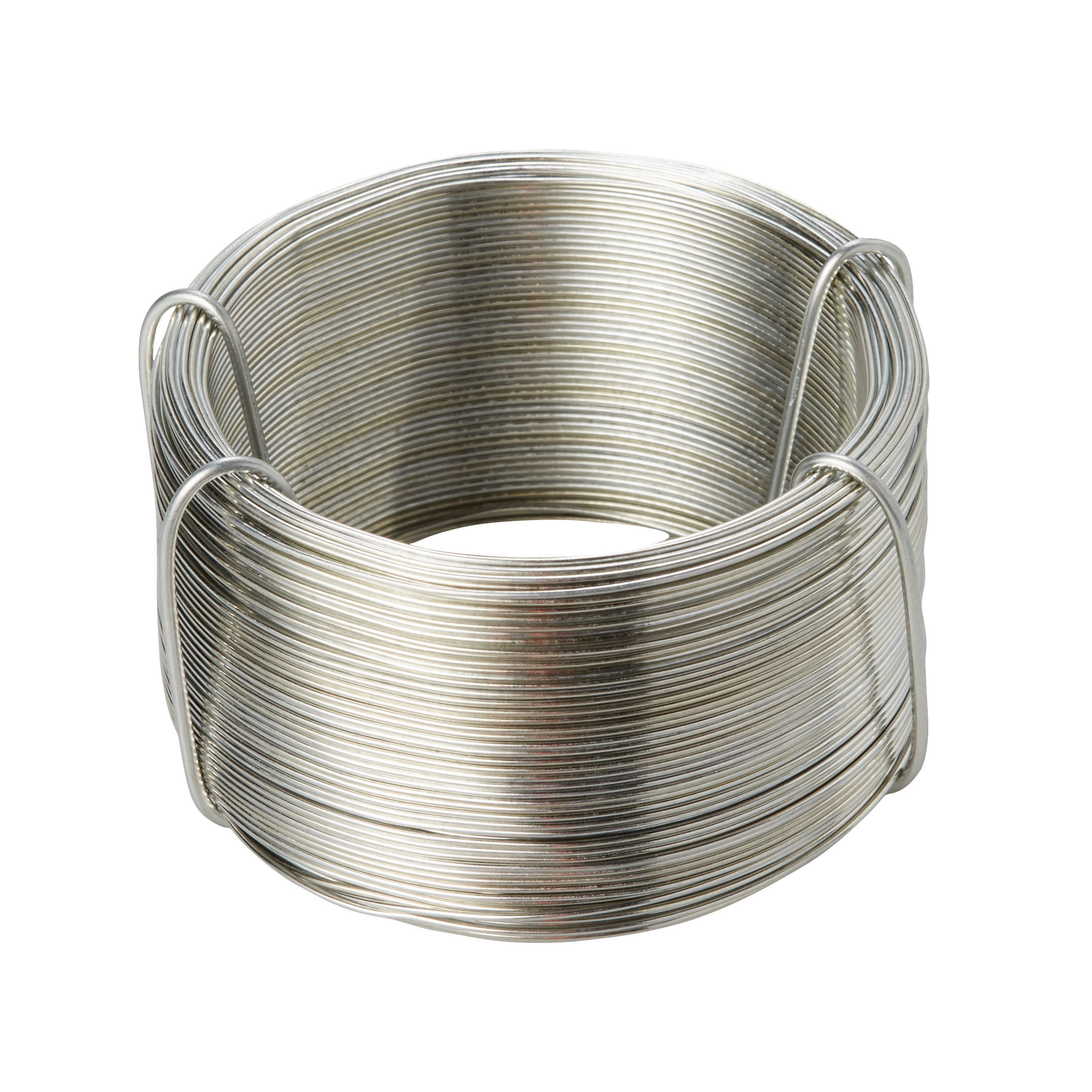 Diall Steel Steel Wire 0 7mm X 75m Departments Diy At B Amp Q