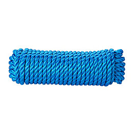 Diall Polypropylene Twisted Rope 12mm x 5m