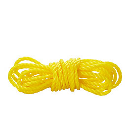 Diall Polypropylene Twisted Rope 8mm x 5M