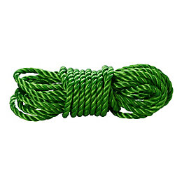 Diall Polypropylene Twisted Rope 10mm x 5M