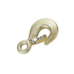 Diall Zinc Plated Steel Fixed Security Hook
