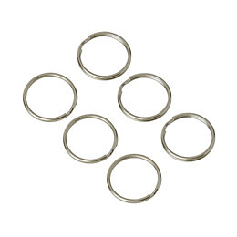 Diall Split Ring, Pack of 6