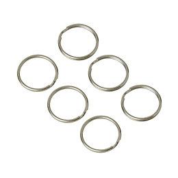 Diall Split Ring, Pack of 6