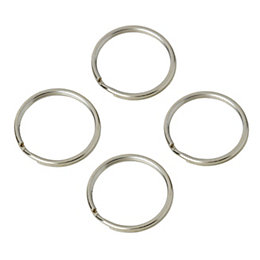 Diall Split Ring, Pack of 4