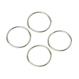 Diall Welded Ring, Pack of 4