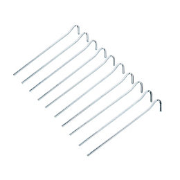 Diall Wire Peg (L)0.18M, Pack of 10