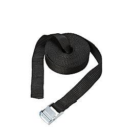 Diall Black 5M Cambuckle Tie Down