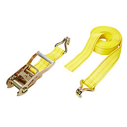 Diall Polypropylene Ratchet Tie Down & Hook