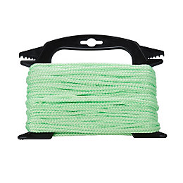 Diall Green Twisted Rope (L)2M