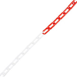 Diall Red & White Signalling Chain (L)10M