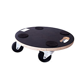Diall Rubber Topped Dolly, (Max. Weight) 200kg
