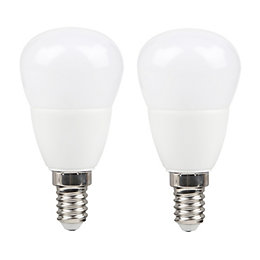 Diall E14 470lm LED Mini Globe Light Bulb,