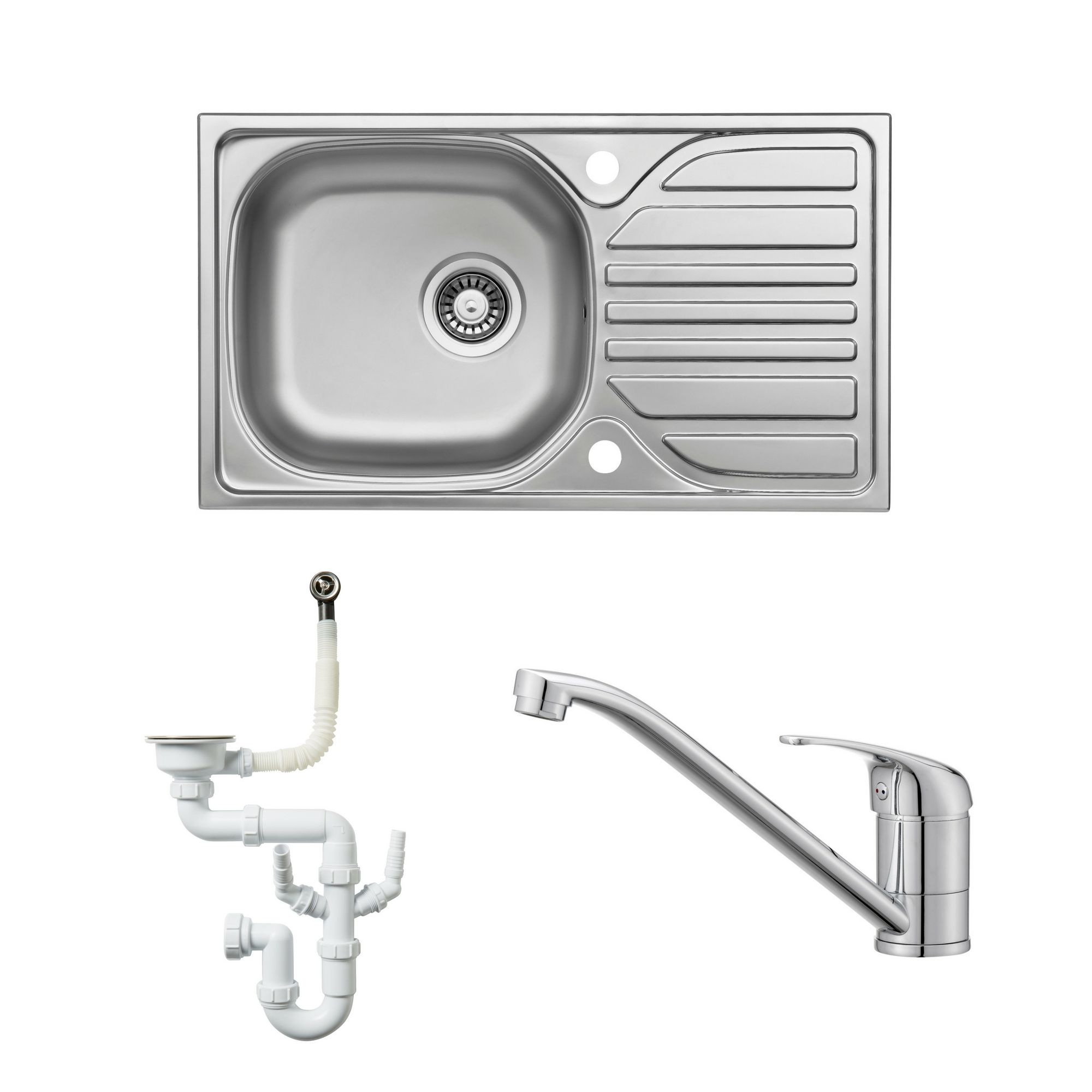 Top B And Q Kitchen Sink And Tap Sets