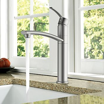 Cooke & Lewis Tolmer top lever kitchen tap