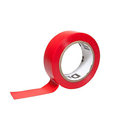 Diall Red Electrical Tape (L)10M (W)19mm