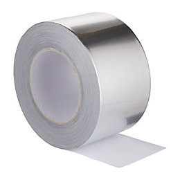 Diall Clear Aluminium Tape (L)50M (W)75mm