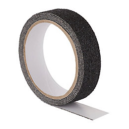Diall Black Anti-Slip Tape (L)2M (W)25mm