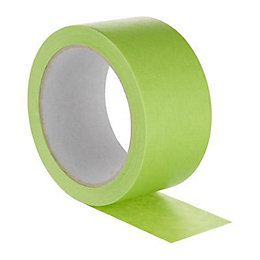 Diall Green Masking Tape (L)25M (W)50mm