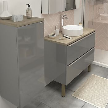Imandra grey bathroom furniture
