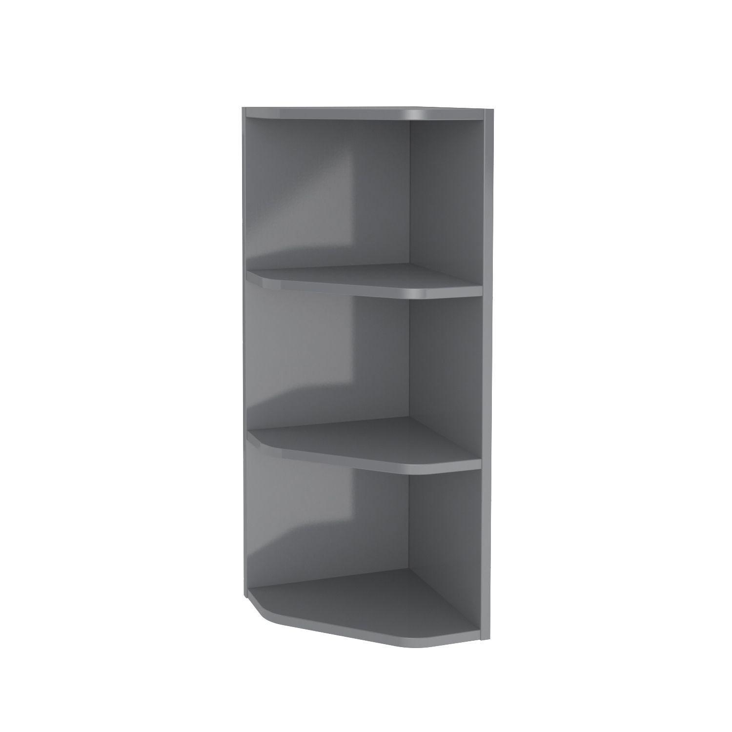 Imandra Grey Shelving Column L 340mm D 360mm Departments Diy  # Muebles Cic Bodega