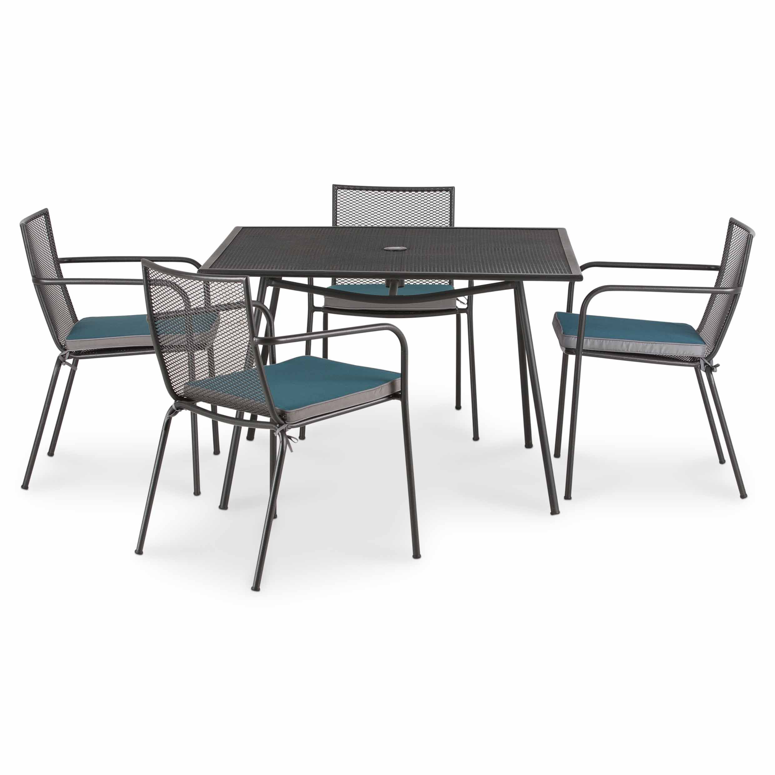 Adelaide Metal 4 Seater Dining Table Departments Diy