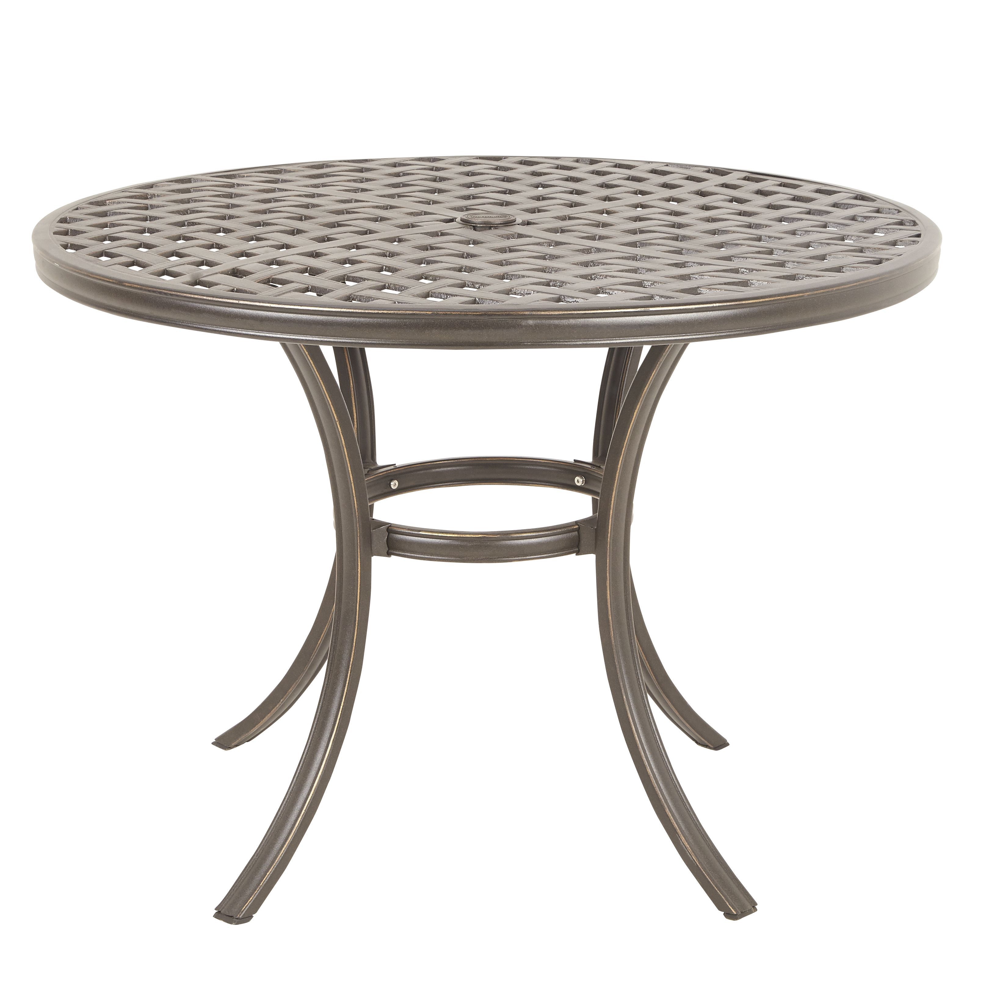Ripley Metal 4 Seater Dining Table
