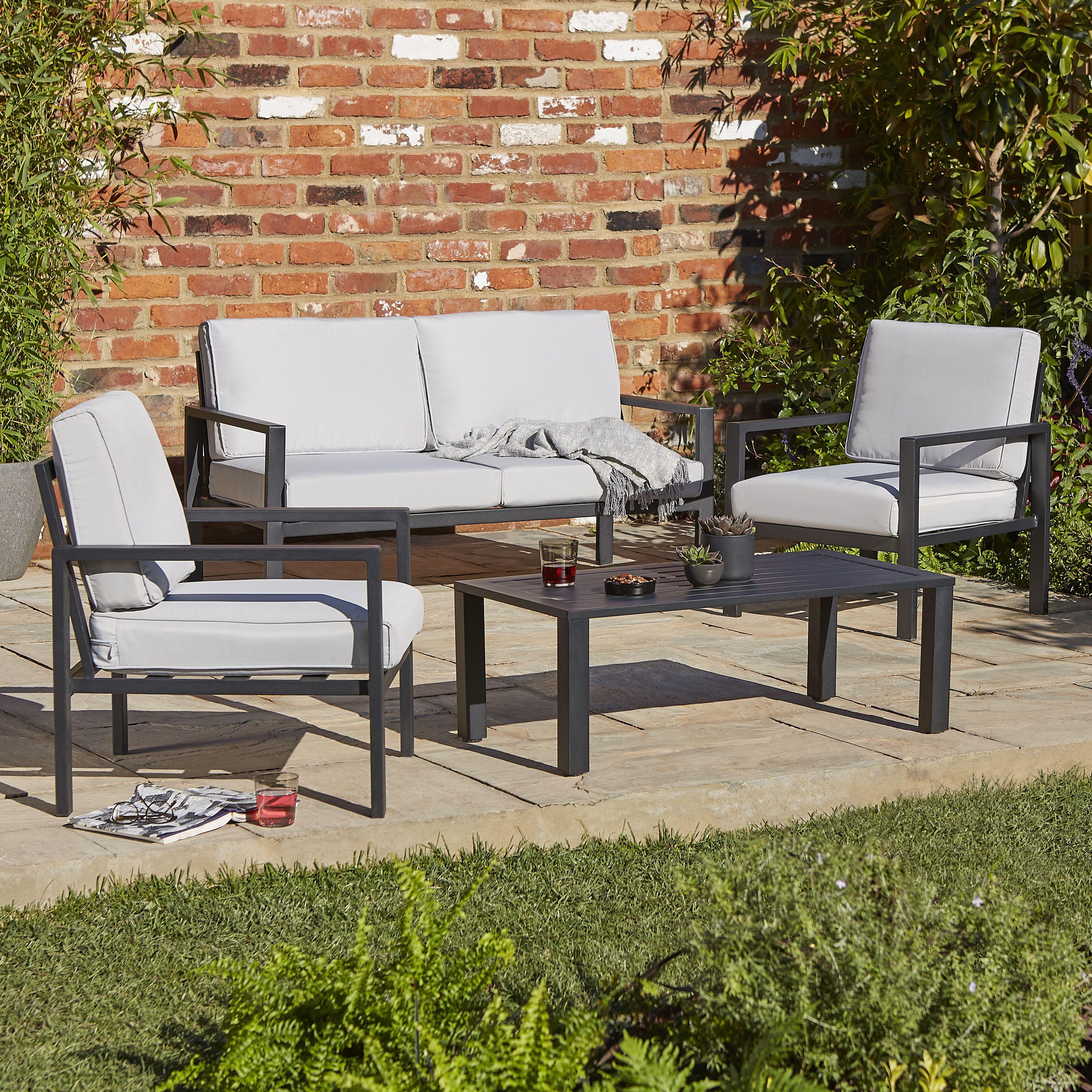 Ordinaire Metal Garden Furniture