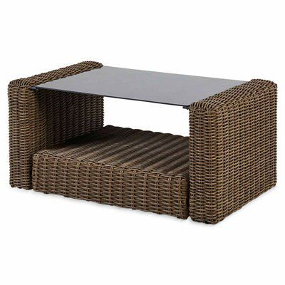 Soron Rattan Coffee Table
