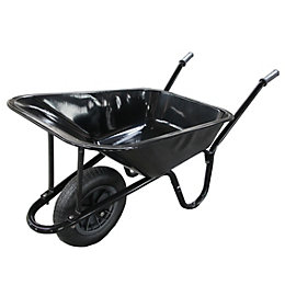 Verve Black 85L Wheelbarrow
