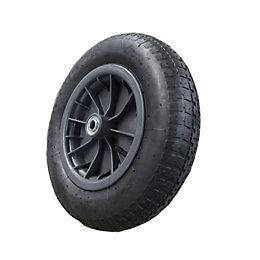 Verve (Dia)360mm Swivel Pneumatic Wheelbarrow Wheel