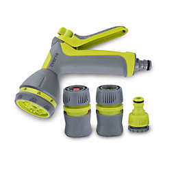 Verve Green & Grey Spray Gun & Hose
