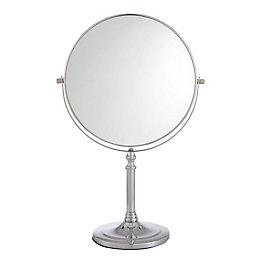 Cooke & Lewis HARLECH Round Mirror (W)225mm (H)345mm