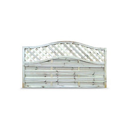 Decorative Fence panel (H)1.05m(W)1.8m