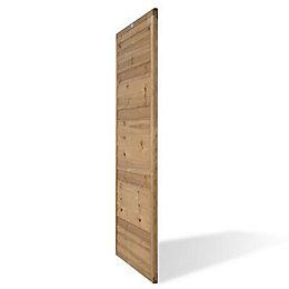 Pine Brown Treated Fine Sawn External Gate Gate,