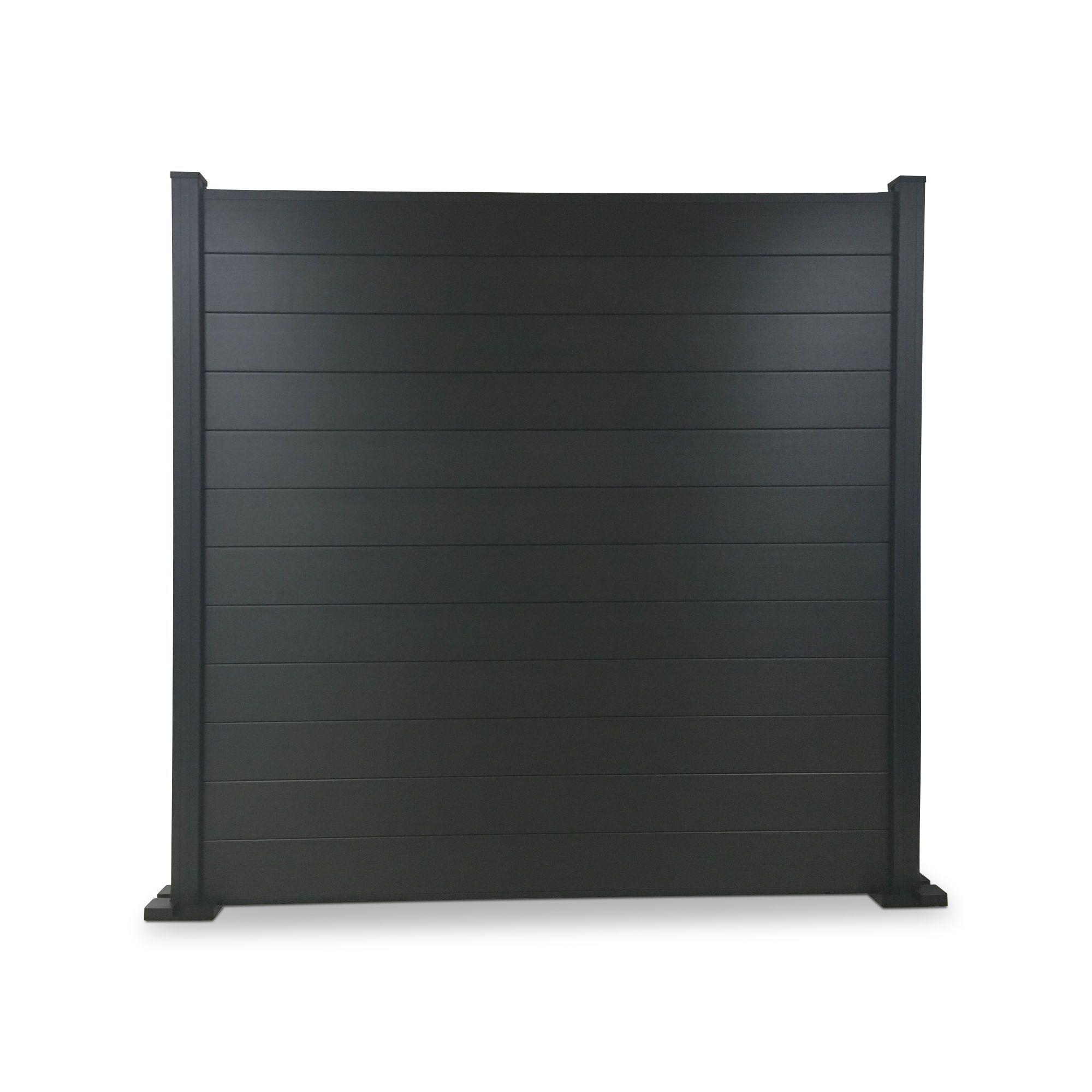 blooma neva composite fence slat w 1790mm h 155mm pack of 3 departments diy at b q. Black Bedroom Furniture Sets. Home Design Ideas