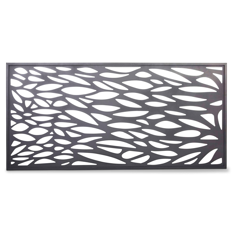 Blooma Neva Aluminium Decorative 1 2 Panel W 1790mm H
